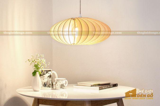 Thế Giới Đèn Gỗ - Đèn gỗ trang trí dg240