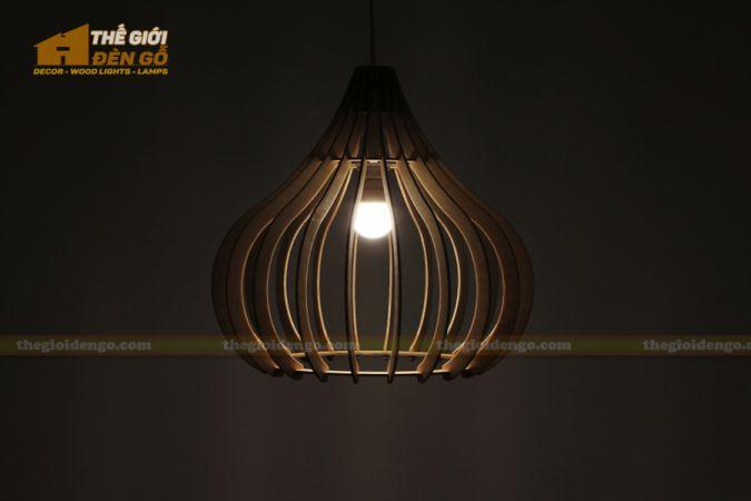 Thế Giới Đèn Gỗ - Đèn gỗ trang trí dg242