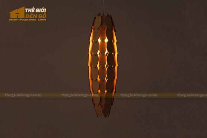 Thế Giới Đèn Gỗ - Đèn gỗ trang trí dg245-1