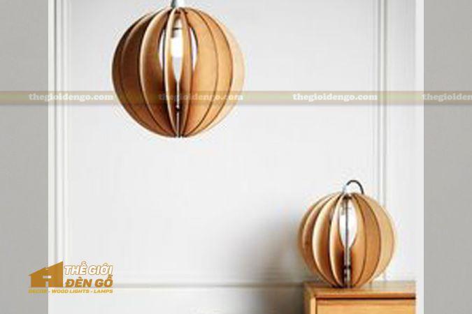 Thế Giới Đèn Gỗ - Đèn gỗ trang trí dg248-1