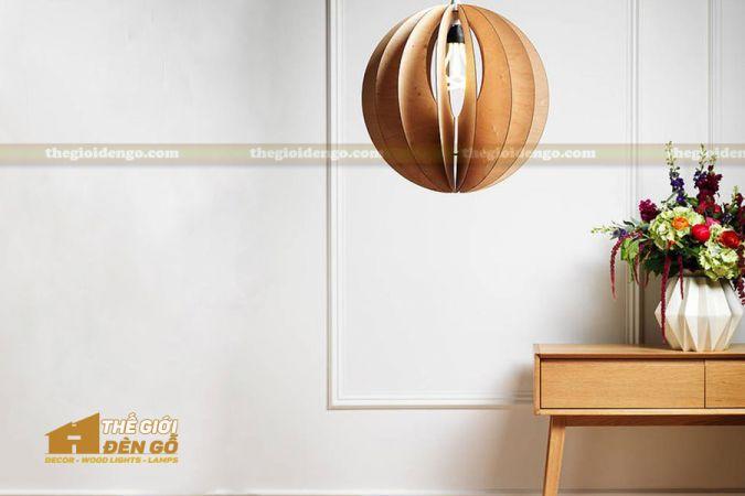 Thế Giới Đèn Gỗ - Đèn gỗ trang trí dg248