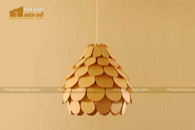 Thế Giới Đèn Gỗ - Đèn gỗ trang trí dg253-1