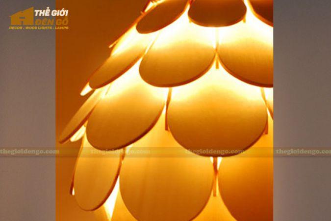 Thế Giới Đèn Gỗ - Đèn gỗ trang trí dg253-2