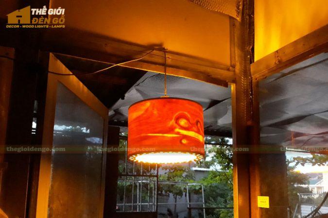 Thế Giới Đèn Gỗ - Đèn gỗ trang trí dg258-1