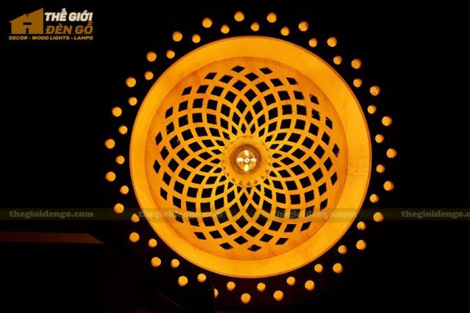 Thế Giới Đèn Gỗ - Đèn gỗ trang trí dg258-3