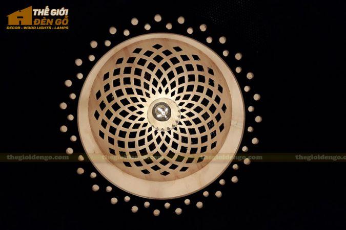 Thế Giới Đèn Gỗ - Đèn gỗ trang trí dg258-4