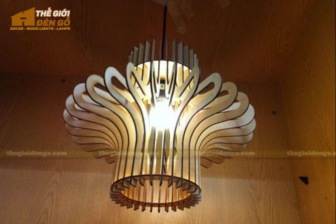 Thế Giới Đèn Gỗ - Đèn gỗ trang trí dg264-1