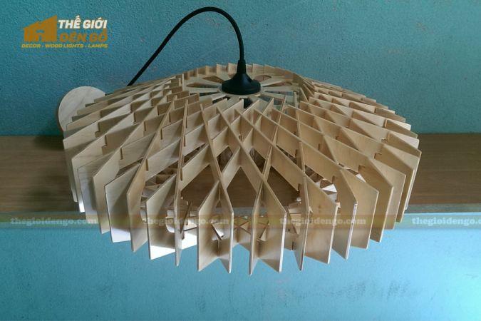 Thế Giới Đèn Gỗ - Đèn gỗ trang trí dg265-2
