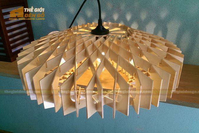 Thế Giới Đèn Gỗ - Đèn gỗ trang trí dg265-3