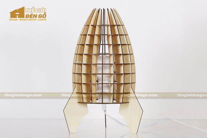 Thế giới đèn gỗ - Đèn gỗ trang trí để bàn TGDG-09-2
