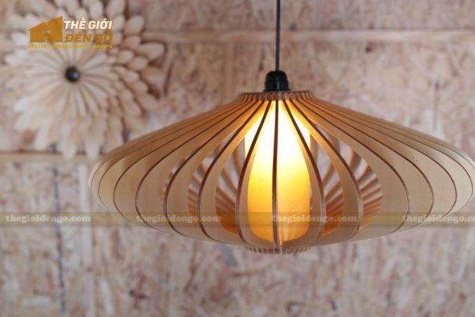 Thế Giới Đèn Gỗ - Đèn gỗ trang trí đĩa bay 1