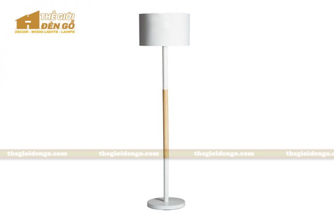 Thế Giới Đèn Gỗ - Đèn gỗ trang trí để sàn DGS007