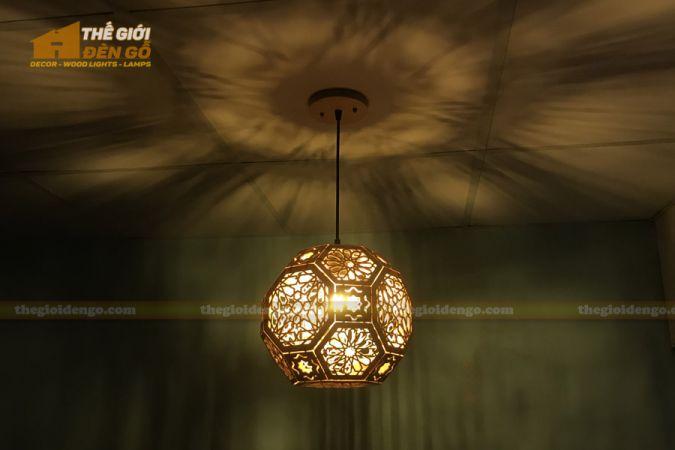 Thế Giới Đèn Gỗ - Đèn gỗ trang trí DG289-2