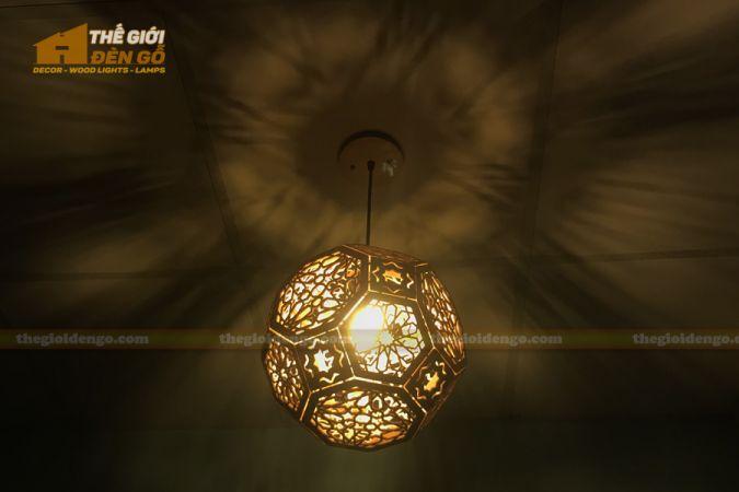 Thế Giới Đèn Gỗ - Đèn gỗ trang trí DG289-3