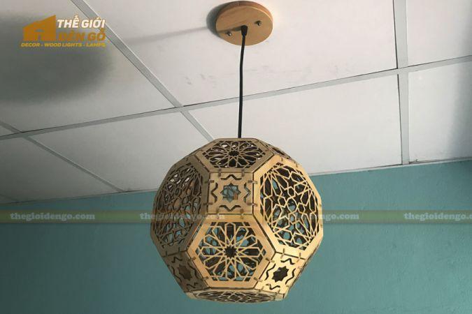 Thế Giới Đèn Gỗ - Đèn gỗ trang trí DG289-4
