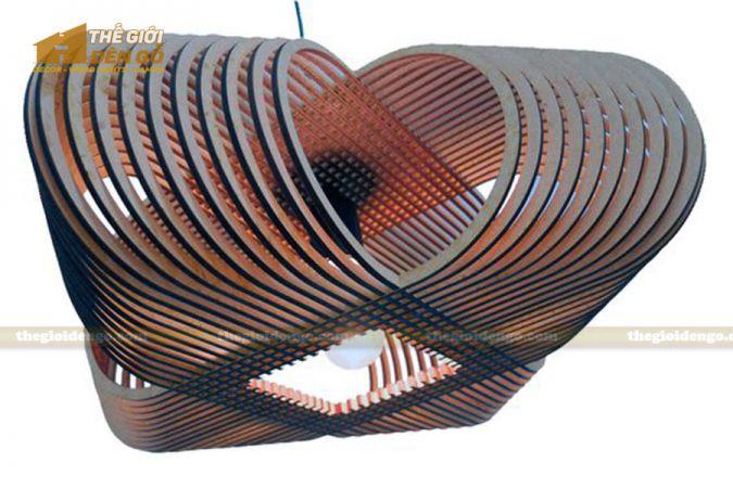 Thế Giới Đèn Gỗ - Đèn gỗ trang trí dg280