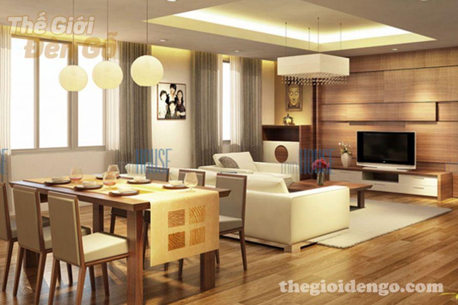 Thế Giới Đèn Gỗ - Thiết kế nội thất gỗ cho căn hộ thêm phần sang trọng