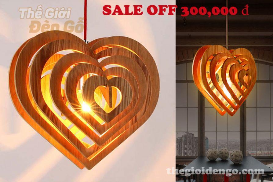 Thế Giới Đèn Gỗ - Khuyến mãi Valentine 14-2