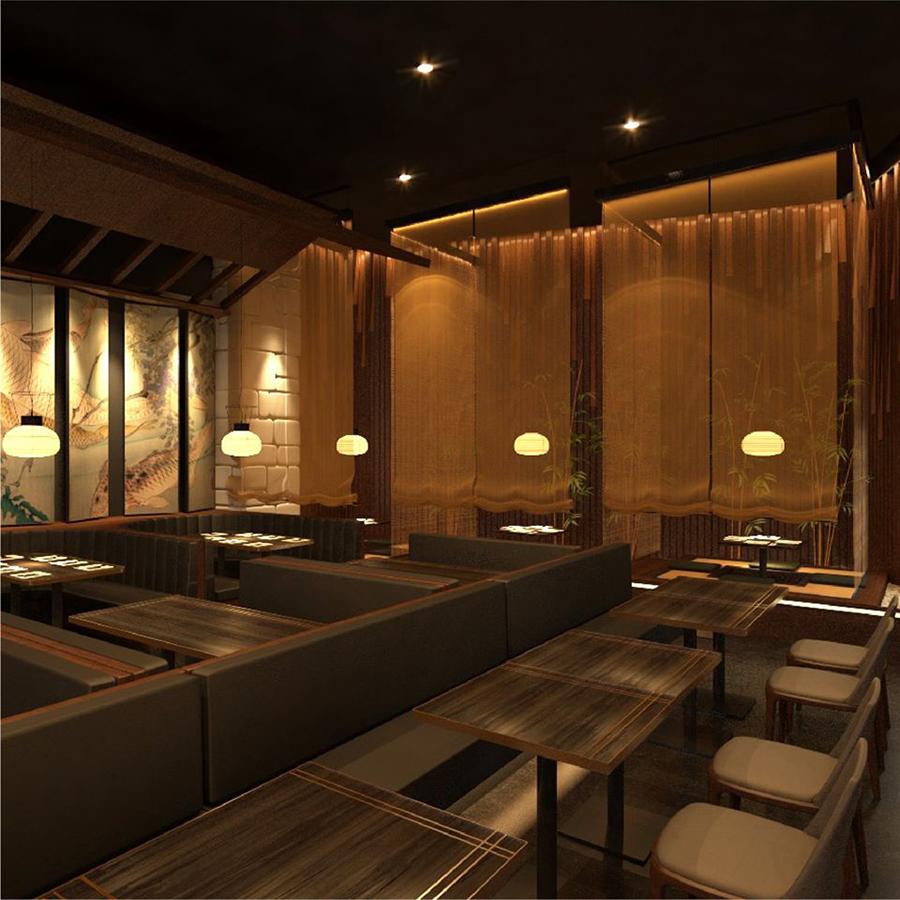 Thế Giới Đèn Gỗ - Dự án nhà hàng Shushi Hokkaido Sachi Quận 3 - 5