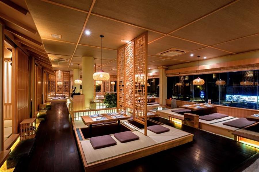 Thế Giới Đèn Gỗ - Dự án nhà hàng Shushi Hokkaido Sachi Quận 3 - 7