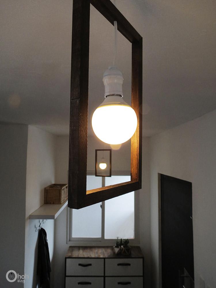 Thế Giới Đèn Gỗ - Hướng dẫn tự làm đèn gỗ thả trần cực đơn giản 10