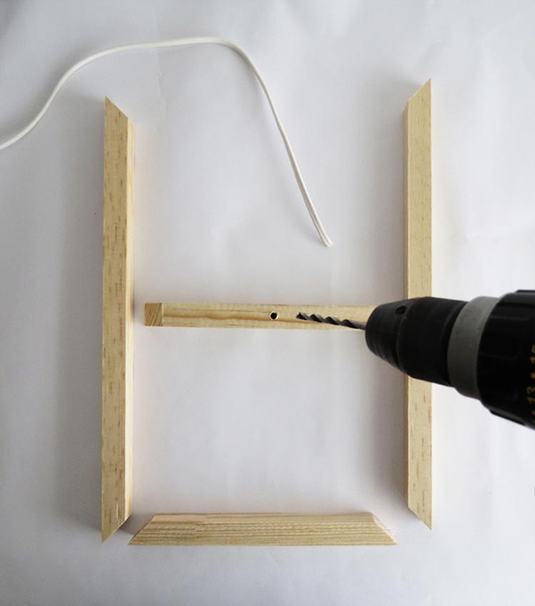 Thế Giới Đèn Gỗ - Hướng dẫn tự làm đèn gỗ thả trần cực đơn giản 2
