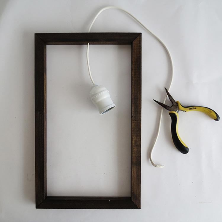 Thế Giới Đèn Gỗ - Hướng dẫn tự làm đèn gỗ thả trần cực đơn giản 5