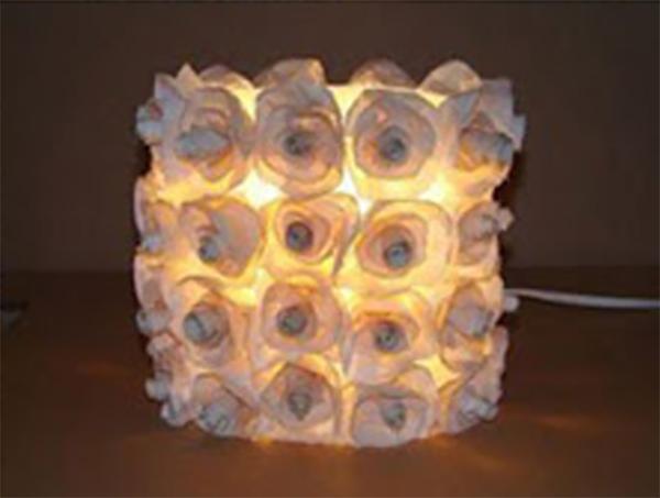 Thế Giới Đèn Gỗ - Hướng dẫn làm đèn ngủ handmade bằng chai nhựa 5
