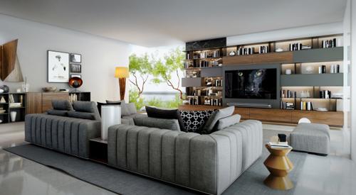 Thế Giới Đèn Gỗ - 8 phong cách thiết kế phòng khách thượng lưu 8