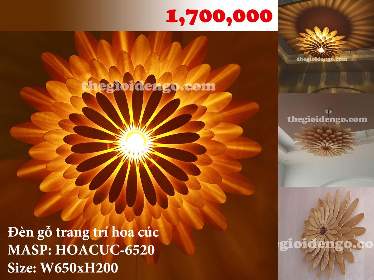 Thế Giới Đèn Gỗ - Combo bộ 3 sản phẩm đèn gỗ trang trí 1
