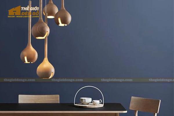 Thế Giới Đèn Gỗ - 8 mẫu đèn trang trí gỗ cho phòng ăn đẹp lung linh 14