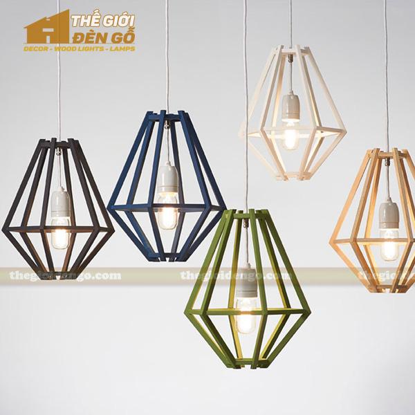 Thế Giới Đèn Gỗ - 8 mẫu đèn trang trí gỗ cho phòng ăn đẹp lung linh 15
