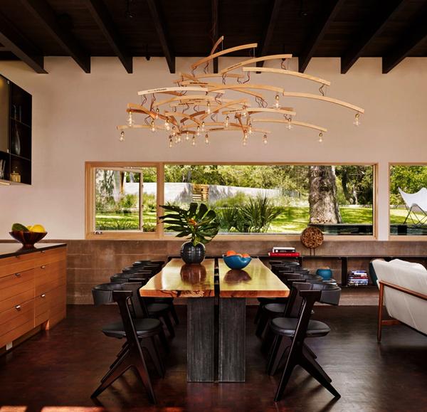 Thế Giới Đèn Gỗ - 8 mẫu đèn trang trí gỗ cho phòng ăn đẹp lung linh 17