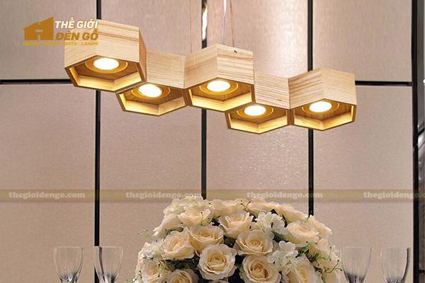 Thế Giới Đèn Gỗ - 8 mẫu đèn trang trí gỗ cho phòng ăn đẹp lung linh 19