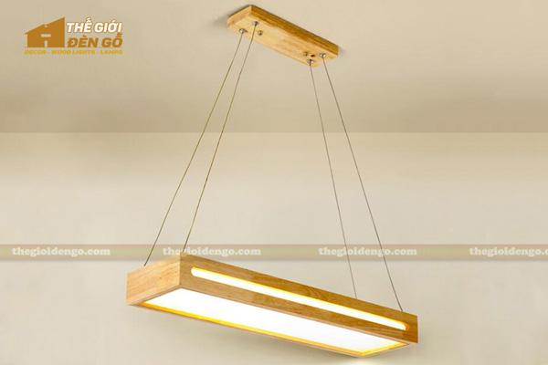 Thế Giới Đèn Gỗ - 8 mẫu đèn trang trí gỗ cho phòng ăn đẹp lung linh 28