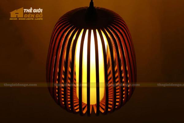 Thế Giới Đèn Gỗ - 8 mẫu đèn trang trí gỗ cho phòng ăn đẹp lung linh 5