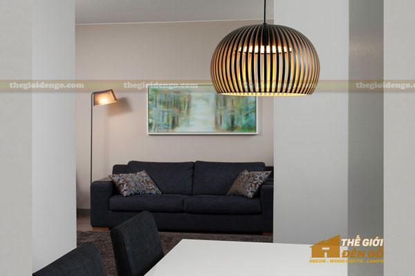 Thế Giới Đèn Gỗ - 8 mẫu đèn trang trí gỗ cho phòng ăn đẹp lung linh 7