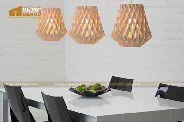 Thế Giới Đèn Gỗ - 8 mẫu đèn trang trí gỗ cho phòng ăn đẹp lung linh 8