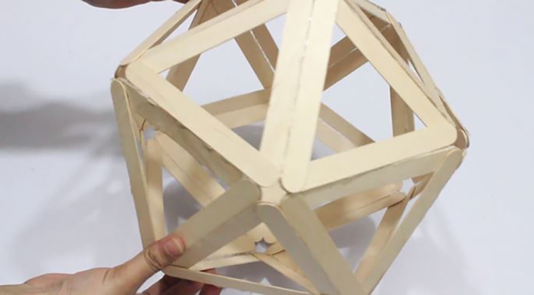Thế Giới Đèn Gỗ - Hướng dẫn làm đèn ngủ handmade từ que kem gỗ 8