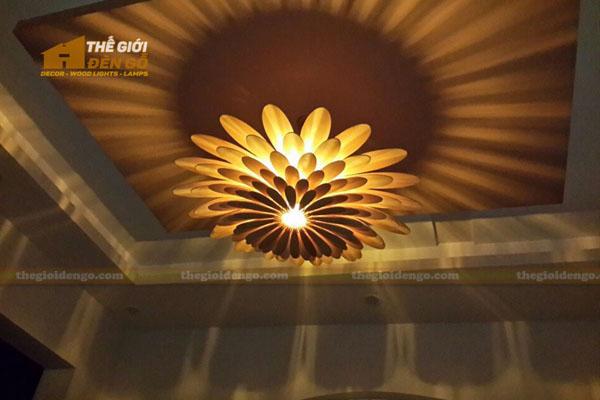 Thế Giới Đèn Gỗ - 5 kiểu đèn trang trí dành cho phòng ngủ đẹp 2