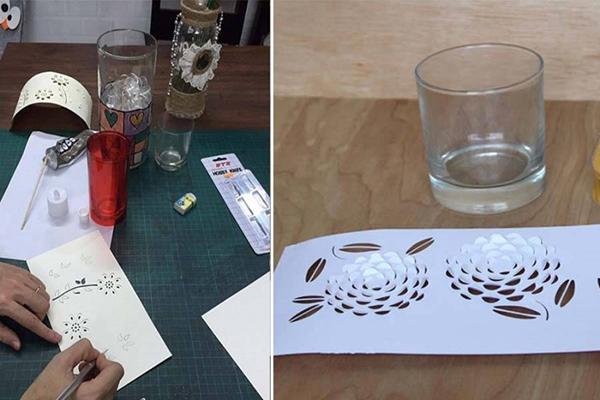 Thế Giới Đèn Gỗ - Hướng dẫn làm đèn trang trí handmade tuyệt đẹp từ giấy 5