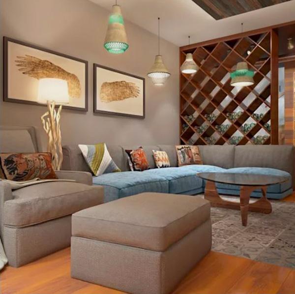Thế Giới Đèn Gỗ - 7 kiểu đèn trang trí phòng khách-đẹp và hợp mốt