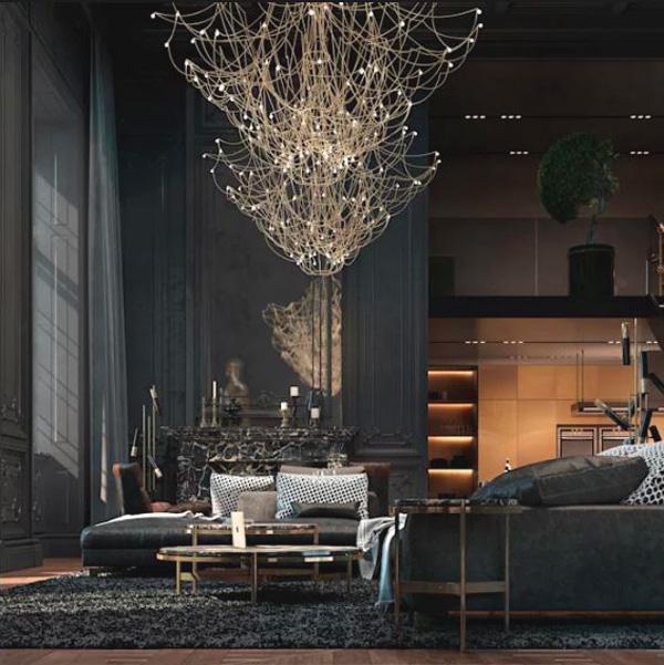 Thế Giới Đèn Gỗ - 7 kiểu đèn trang trí phòng khách-đẹp và hợp mốt 16