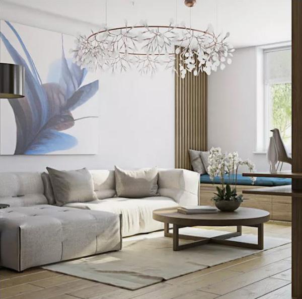 Thế Giới Đèn Gỗ - 7 kiểu đèn trang trí phòng khách-đẹp và hợp mốt 7
