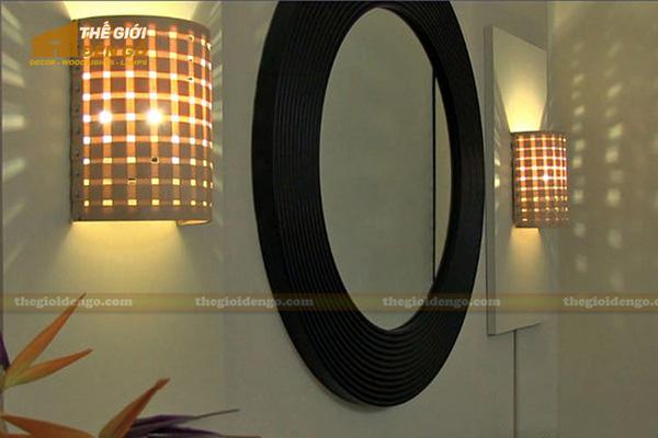 Thế Giới Đèn Gỗ - Cách trang trí đèn tường hợp lý và đẹp mắt 5