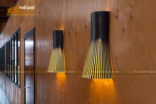 Thế Giới Đèn Gỗ - Cách trang trí đèn tường hợp lý và đẹp mắt
