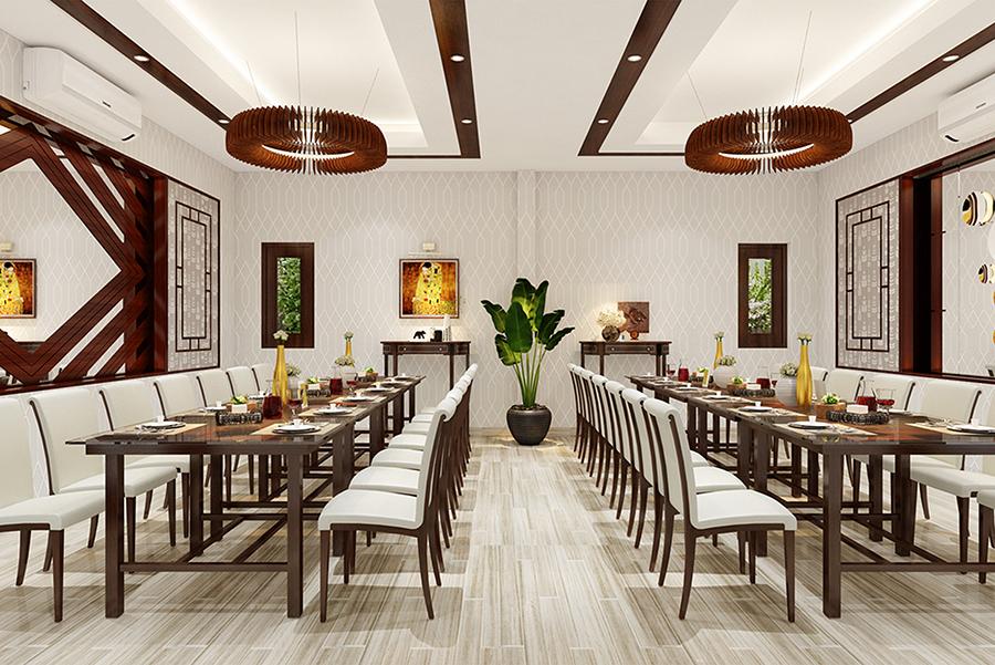 Thế Giới Đèn Gỗ - Dự án tổ hợp nhà hàng - trung tâm hội nghị - tiệc cưới Vạn Lộc Phát 4