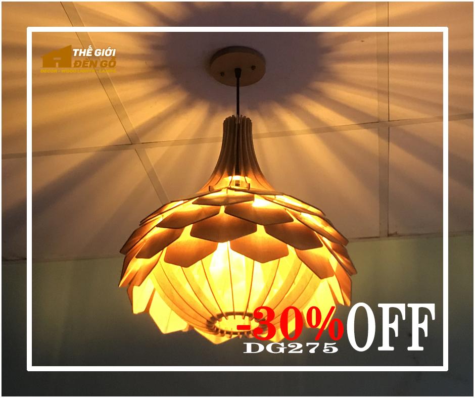 Thế Giới Đèn Gỗ - Flash sale ngày 09-09-2020 - Đèn gỗ DG275