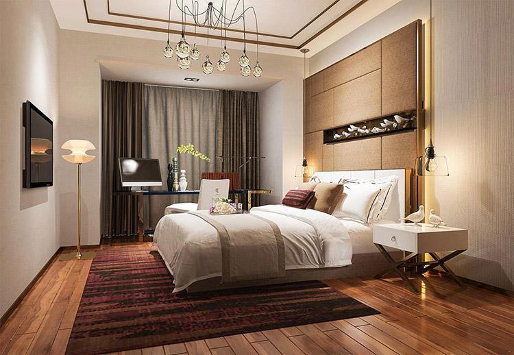Thế Giới Đèn Gỗ - Cách trang trí phòng ngủ siêu đẹp - 6