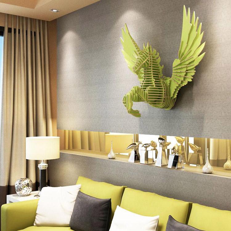 Thế Giới Đèn Gỗ -Top 10 ý tưởng trang trí tường cực đẹp cho căn nhà 7